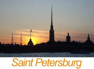Romance tour to Saint-Petersburg