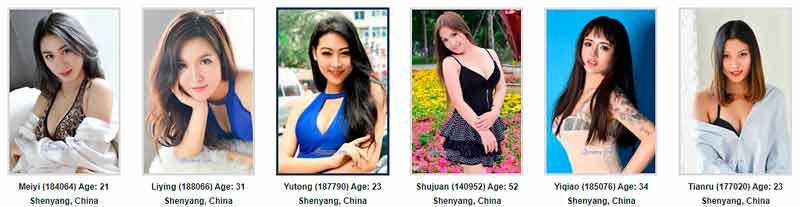 Shenyang Brides - Chinese Brides & single Chinese women from Shenyang, Hong Kong, Shenzhen and Chongqing, China. Chinese Brides and single Chinese women for marriage.